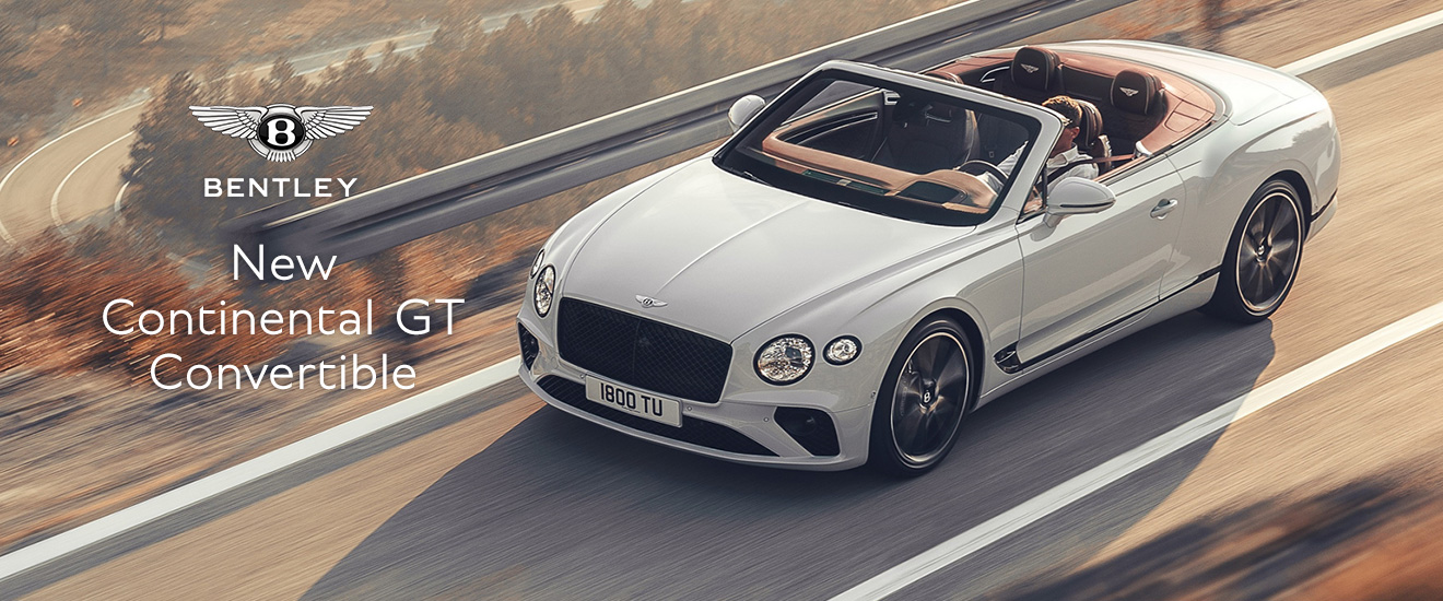 BENTLEY New Continental GT Convertible