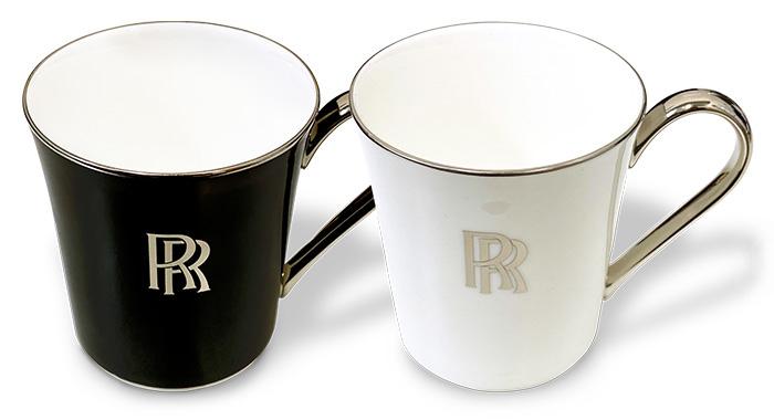 ロールス・ロイス ロゴ入りオリジナルマグカップ